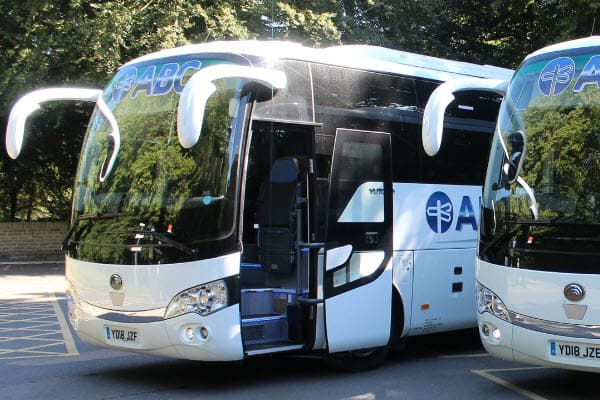 Contract Coach Hire, Manchester & North West