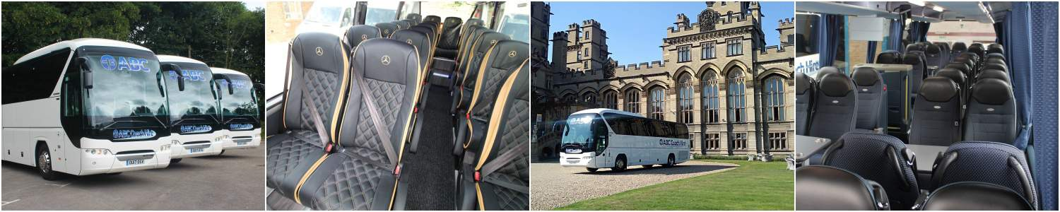 16 to 74 Seater Coach & Minibus Hire - Ideal for your Day Trips & Excursions