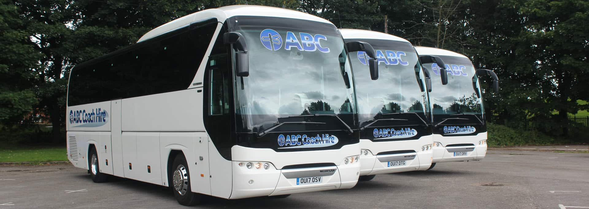 49-53 Seater Coach Hire - ABC Coaches - Manchester & the North West