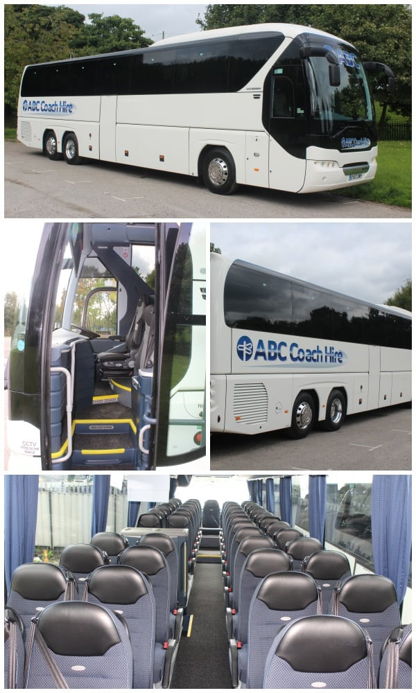 74 Seater Coach Hire - Manchester & the North West