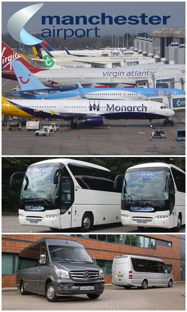Airport Coach & Minibus Hire, for all UK Airports