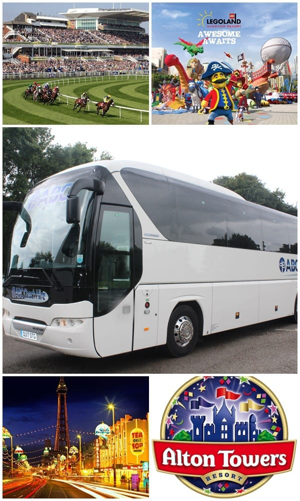 Coach Hire for Day Trips & Excursions, Manchester & North West