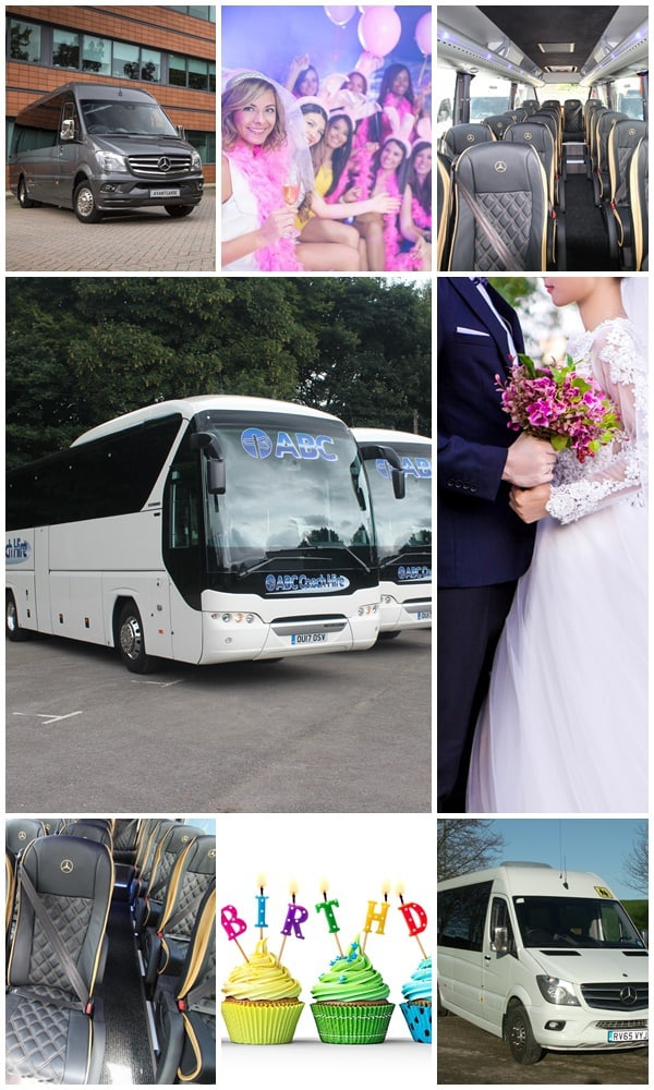 Coach Hire for Special Occasions, Manchester & North West