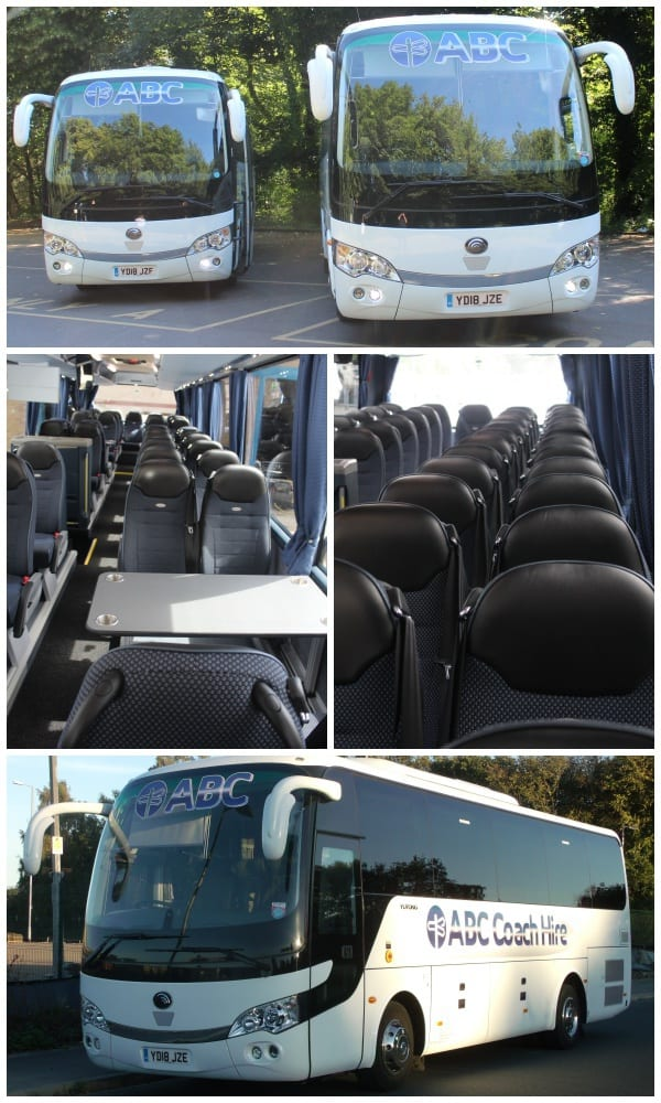 Luxury 20 to 34 seater Midi Coach Hire