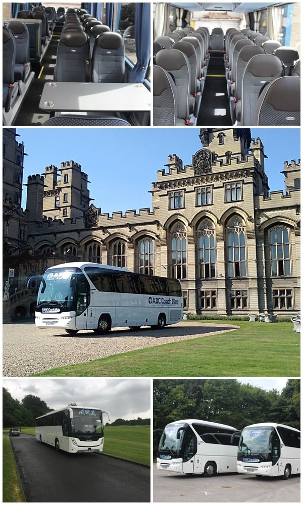 Luxury Coach Hire - For Touring and Group Travel