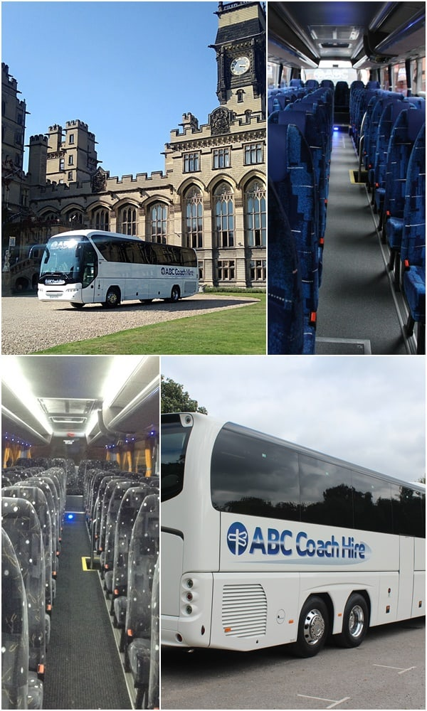 Typical School Hire Coaches - Any number up to 74 Passengers