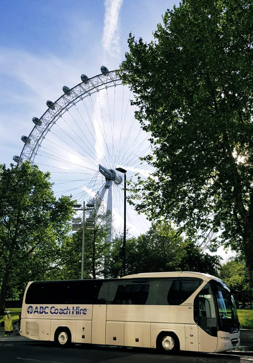 Coach tour to London from Manchester, by ABC Coach Hire