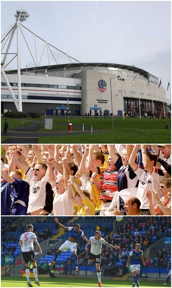 Coach and Minibus Hire for Bolton Wanderers Games, Matches