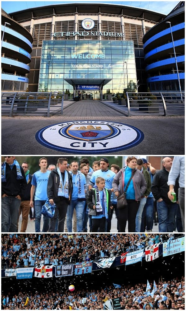 Coach and Minibus Hire for Man City Games