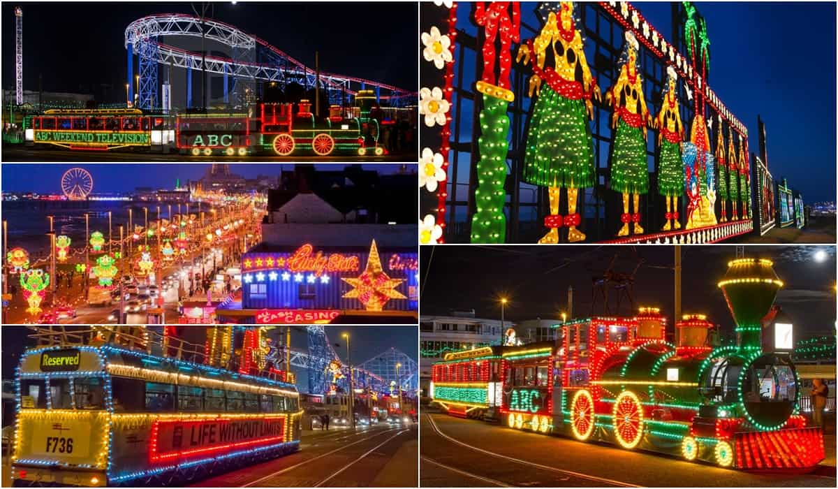 Blackpool Illuminations Coach Hire - Minibus Hire, from Manchester