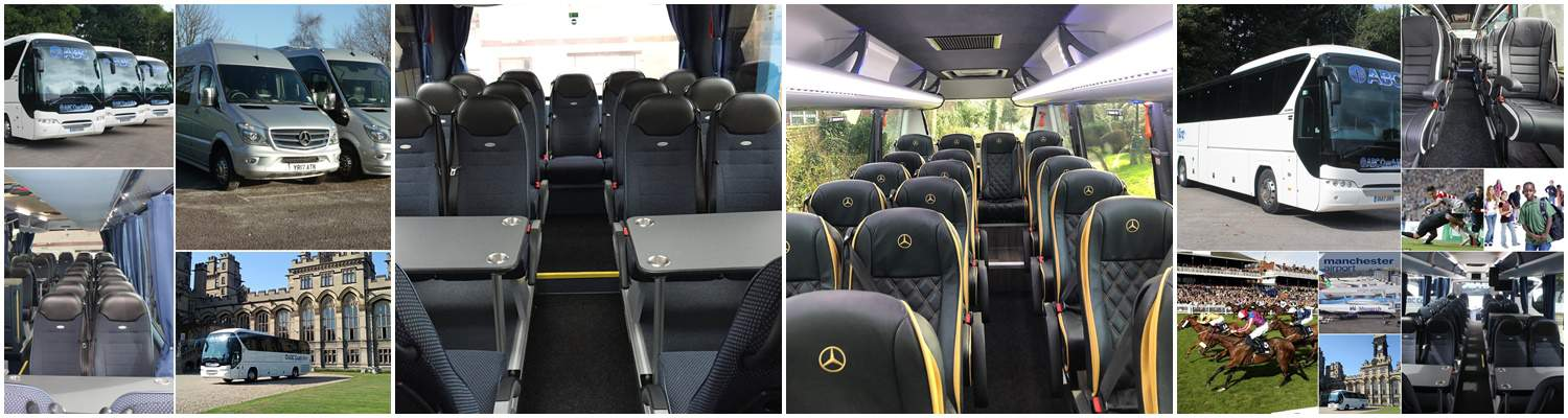 Coach & Minibus Hire LEIGH - Modern Fleet - Free Quotes, Best Prices
