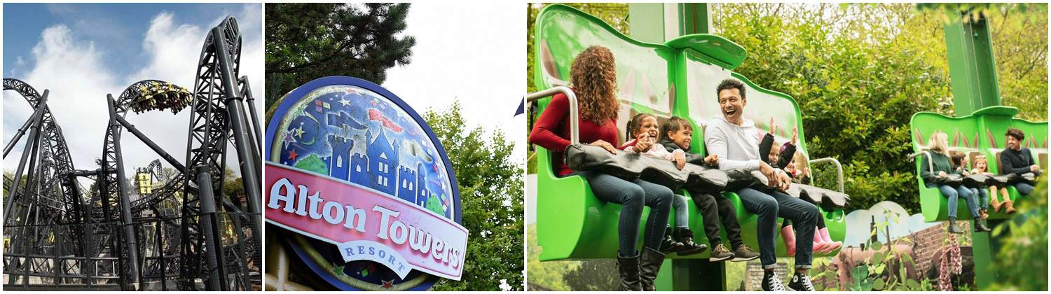 Luxury Coach & Minibus Hire to Alton Towers - Best Prices