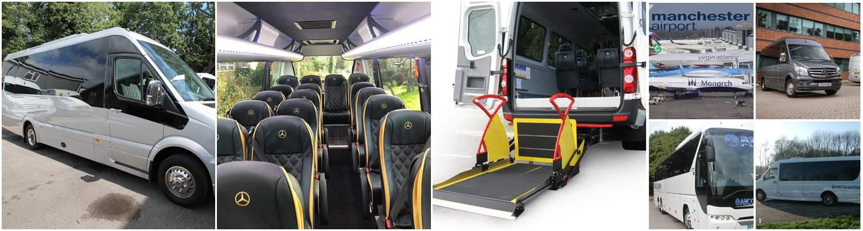 Minibus Hire Manchester Airport - Airport Minibus, by ABC Coaches, Manchester