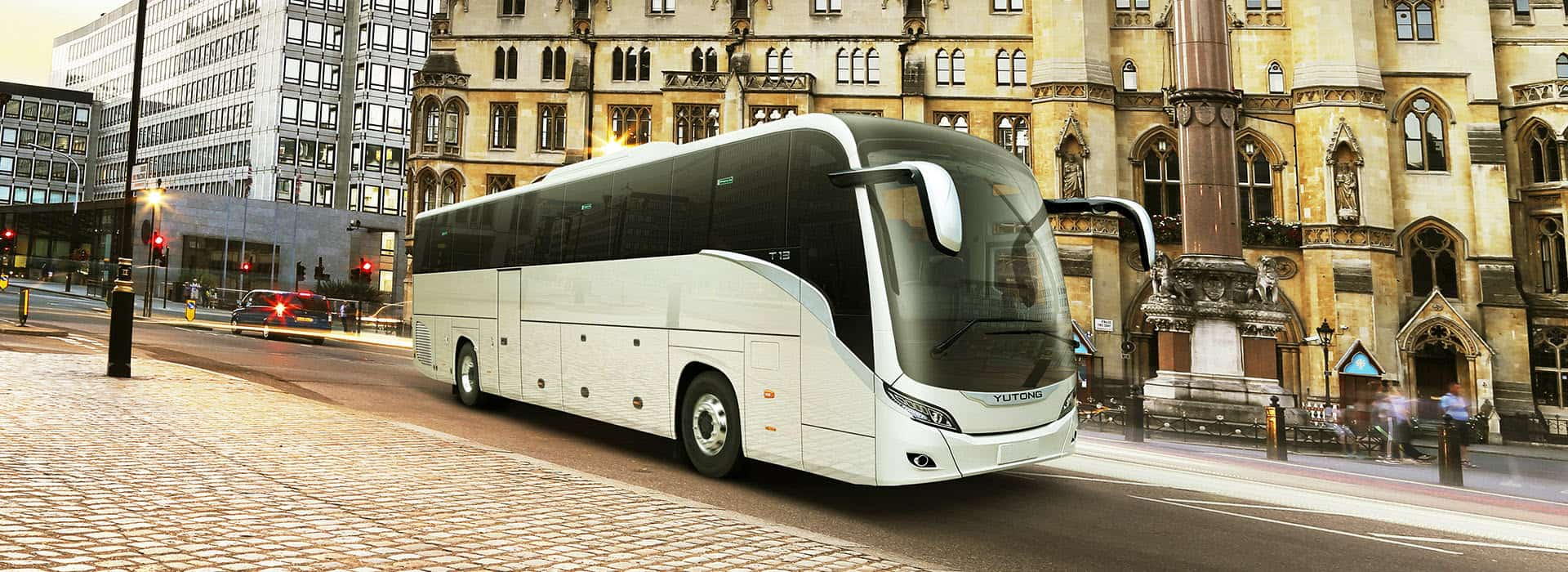 Yutong 'T12' 53 Seater Touring Coach - ABC Coach Hire, Manchester